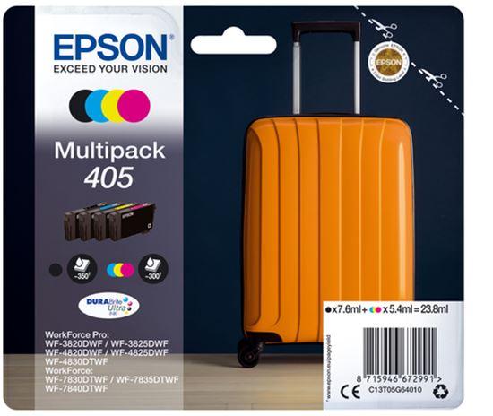 Immagine di EPSON CART MULTIPACK 4 COLORI, N 405 DURABRITE ULTRA INK