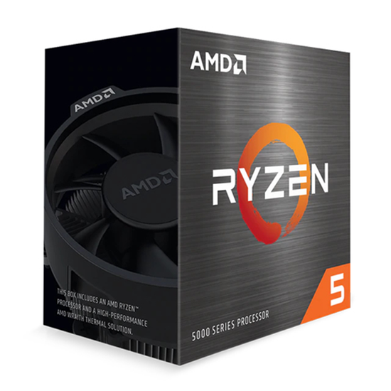 Immagine di AMD CPU RYZEN 5 5600X 4,60GHZ 6 CORE SKT AM4 CACHE 35MB 65W TRAY VERSION ONLY CHIPSET