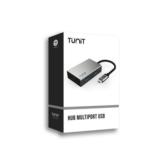 Immagine di TUNIT CAVO USB-C MULTIPORTA USB 3.0