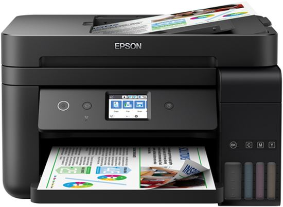 Immagine di EPSON MULTIF. INK ECOTANK ET-4750 COLORE A4 FRONTE/RETRO 15PPM USB/LANWIFI  4IN1
