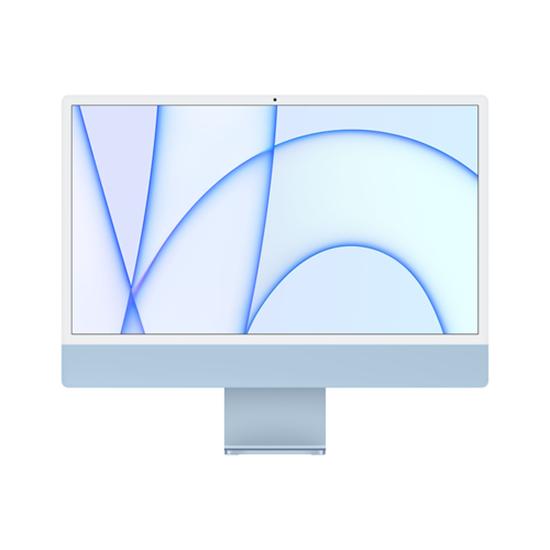 """Immagine di APPLE PC IMAC 24"""" BLUE WITH RETINA 4,5K, APPLE M1 CHIP WITH 8 CORE CPU + 8 CORE GPU, 8GB 256GB"""