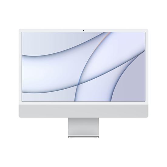 "Immagine di APPLE PC IMAC 24"" SILVER WITH RETINA 4,5K, APPLE M1 CHIP WITH 8 CORE CPU + 8 CORE GPU, 8GB 256GB"