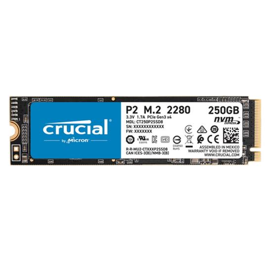 Immagine di CRUCIAL SSD M2 2280 NVME PCIE 250GB 2200/1150 MBPS R/W