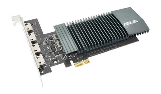 Immagine di ASUS VGA GT710-4H-SL-2GD5 GT710 2GB GDDR5, VGA/HDMI