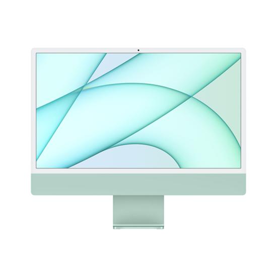 "Immagine di APPLE PC IMAC 24"" GREEN WITH RETINA 4,5K, APPLE M1 CHIP WITH 8 CORE CPU + 8 CORE GPU, 8GB 256GB"