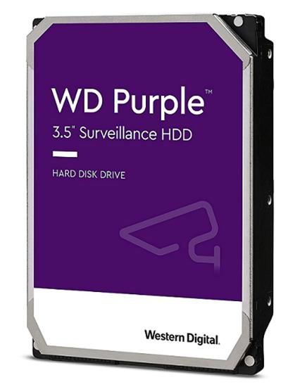 Immagine di WESTERN DIGITAL HDD PURPLE 4TB 3,5 5400RPM SATA 6GB/S 64MB CACHE