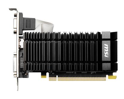 Immagine di MSI VGA N730K-2GD3H/LPV1, DVI-D/HDMI/VGA, LP