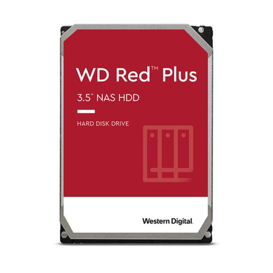 """Immagine di WESTERN DIGITAL HDD 4TB RED PLUS 3,5"""" SATAIII 128MB CACHE 5400RPM"""