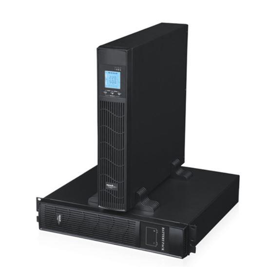 Immagine di MACHPOWER UPS 1000VA/900W ONLINE 2x12V/9Ah 4xIEC COMBO RACK/TOWER