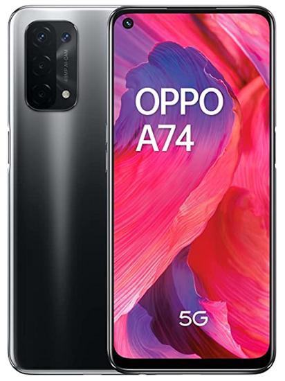 Immagine di OPPO A74 128GB 6GB RAM 5G DUAL SIM FLUID BLACK
