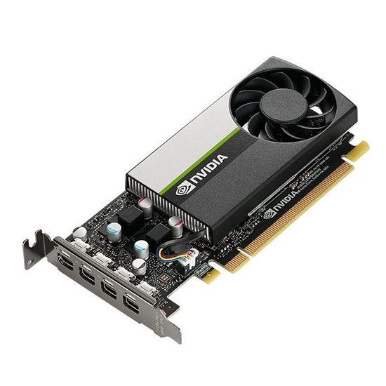 Immagine di PNY VGA QUADRO T1000 LOW PROFILE 4GB GDDR6, 4x Mini DP, OEM VERS.