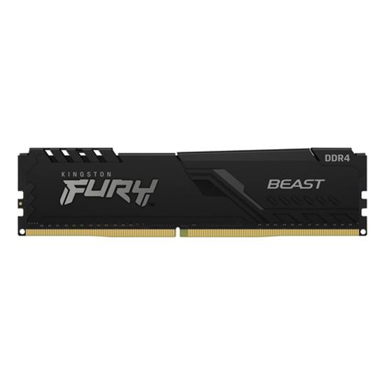 Immagine di KINGSTON RAM FURY BEAST 16GB DIMM 2666MHZ DDR4 CL16