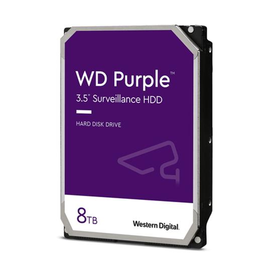 Immagine di WESTERN DIGITAL HDD PURPLE 8TB 3,5 SATA III 6GB/S