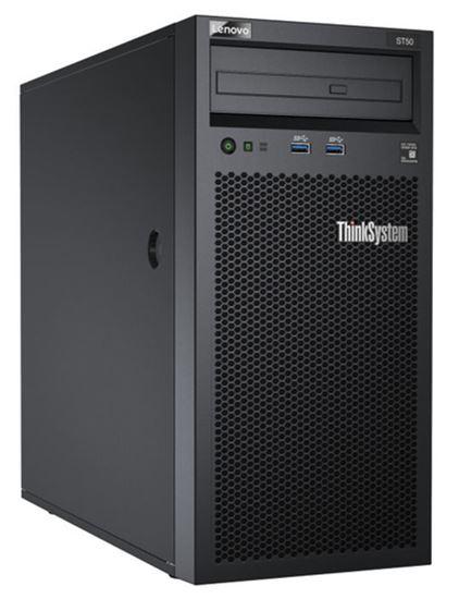 Immagine di LENOVO SERVER TOWER THINKSYSTEM ST50 XEON E-2226G 6 CORE 3.4GHz 16GB 2x480GB