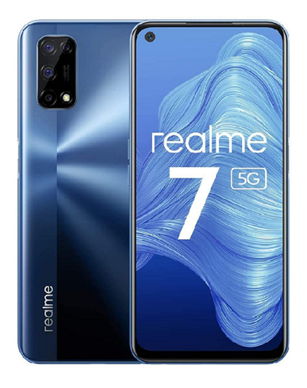 "Immagine di REALME 7 128GB 8GB RAM 5G 6.5"" DUAL SIM BALTIC BLUE"