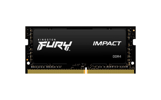 Immagine di KINGSTON RAM FURY IMPACT 16GB SODIMM 3200MHZ DDR4 CL20