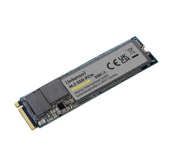 Immagine di INTENSO SSD INTERNO 500GB M2 NVME PCIE 1.3 GEN 3x4 2100/1700 MB/S