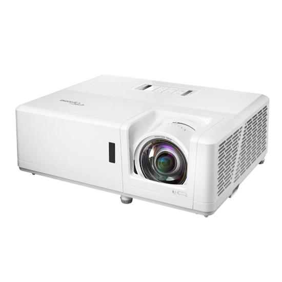 Immagine di OPTOMA VIDEOPROIETTORE ZH406ST OTTICA CORTA DLP 4200 LUMEN CONTR 300.000:1 FHD, HDMI/VGA, RS232